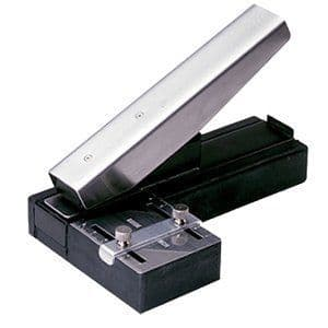 Plastic Card Slot Punch for ID cards, Stapler-style
